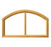 400 Series Vinyl Clad Arch Window