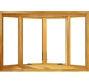 400 Series Vinyl Clad Casement Bow Window