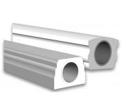 """4""""x6"""" Polyurethane Bottom Handrail (BRAL4X6)"""