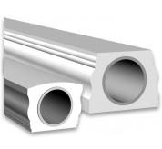 """5""""x7"""" Polyurethane Bottom Handrail (BRAL5X7)"""