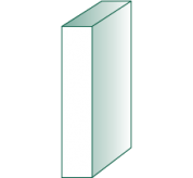 1/2 X 3 PRIMED WOOD S4S (D2)