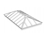 Classic Extended Pyramid Structural Skylight (CPYH)