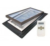 Electric Venting Self Flashing Deck Mounted Skylight (EVM)