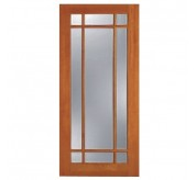F-1309 1 Panel 9 Lite Fir French Door