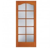 F-1580 1 Panel 10 Lite Fir French Door