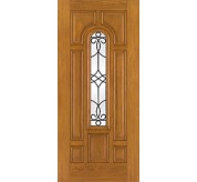Fiber-Classic 8 Panel Fiberglass Oak Exterior Door (FC118)