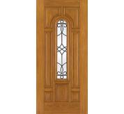 Fiber-Classic 8 Panel Fiberglass Oak Exterior Door (FC118)
