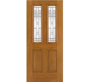 Fiber-Classic 4 Panel Fiberglass Oak Exterior Door (FC903)