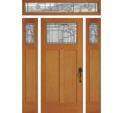 Craftsman Collection Four Square 2 Exterior Door (6961)