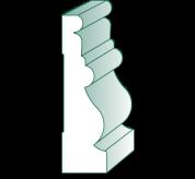 16' Primed MDF Casing (GS119)