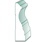 16' Primed MDF Casing (GS441)