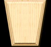 Keystones - solid pine(KEY412)