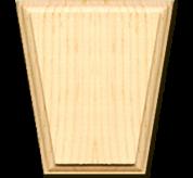 Keystones - solid pine(KEY512)