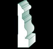 16' Primed MDF Casing (PL378)