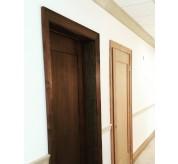 "1 PANEL SHAKER DOOR, MAHOGANY VENEER UNFINISHED 3'0""X 7'0"", 1-3/4"" THICKNESS"
