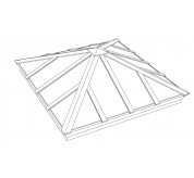 Classic Square Pyramid Structural Skylight (CPY)