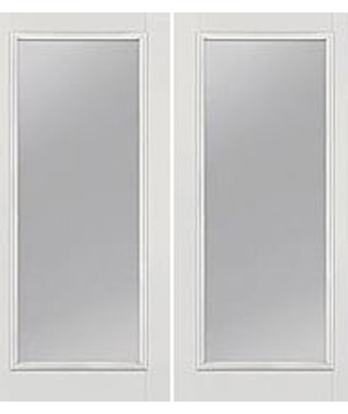 Interior view for Double hinged patio doors
