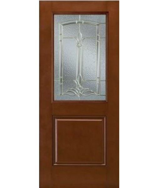 description On half glass exterior door