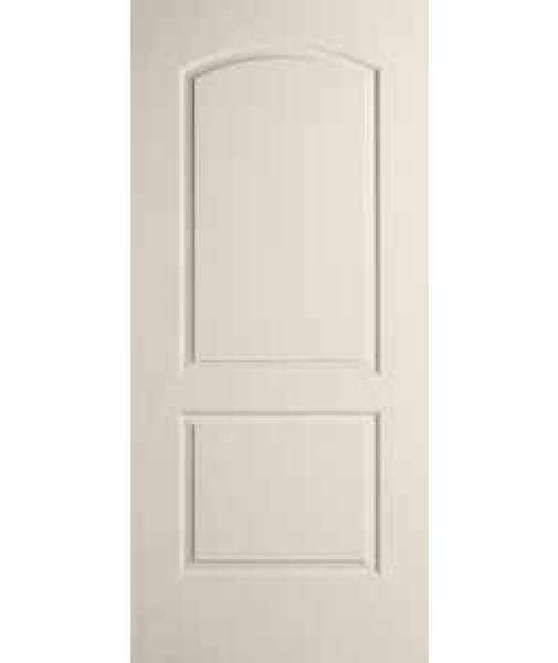 Continental Primed 2 Panel Smooth Door Caiman