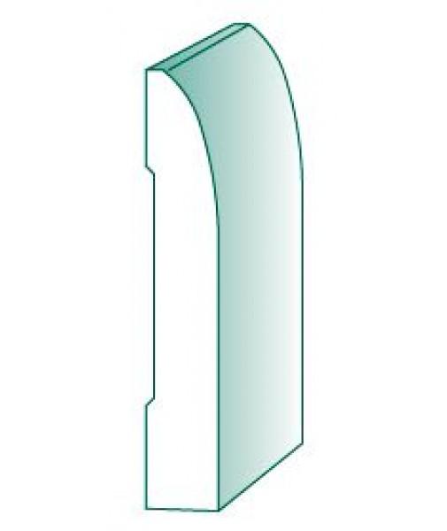 Description for Clamshell door casing
