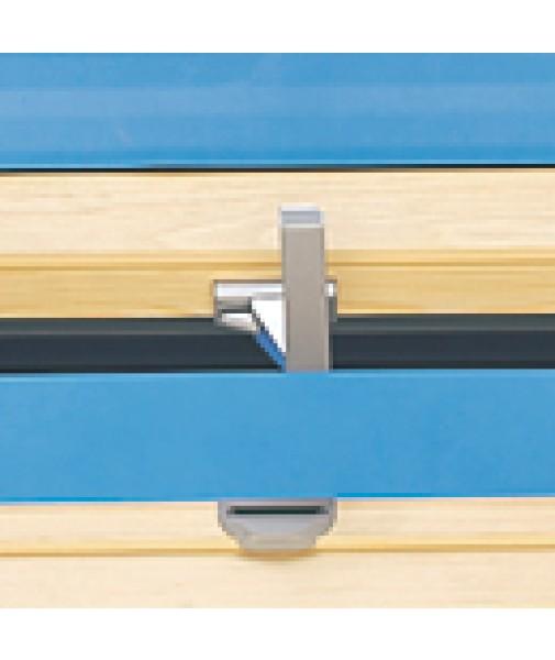 Top Hinged Windows : Bottom latch