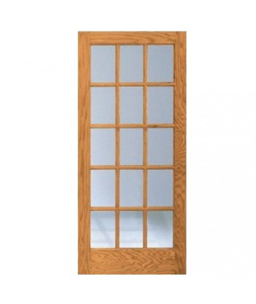 Description for 15 lite french door interior