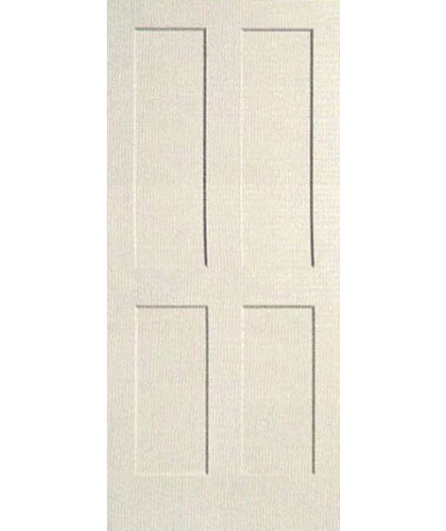 4 Panel Shaker Sticking Primed Door (PR44S). Double Click On Above Image To  View Full Picture